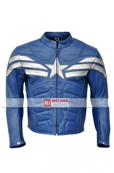 Captain America The Winter Soldier Genuine Leather Jacket
