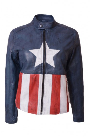 Bon Jovi Captain America Waxed Leather Jacket