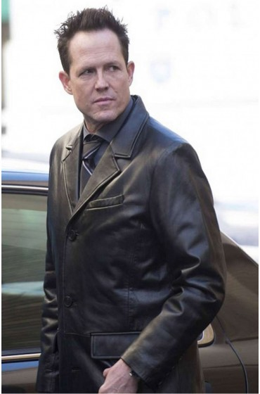 Dean Winters Brooklyn Nine Nine Black Coat