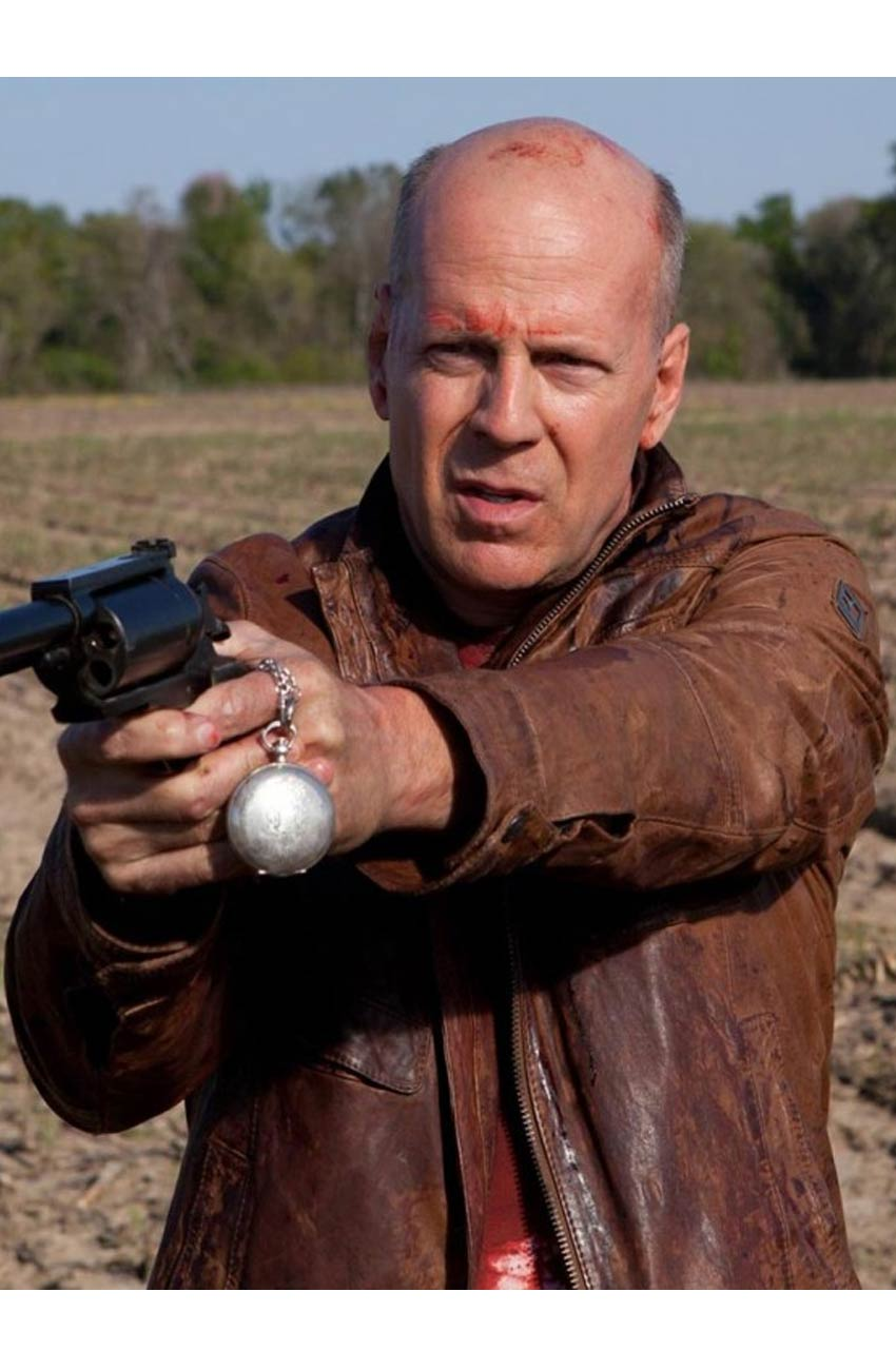 Bruce Willis Leather Jacket | Looper Jacket