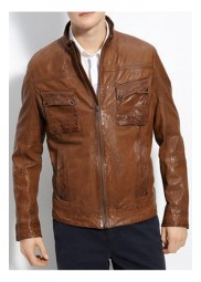 Bruce Willis Looper Leather Jacket
