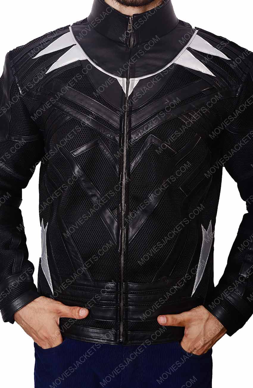 Buy Black Panther Jacket for Sale   50% Off with Free T-shirt