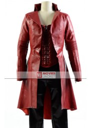 "Captain America Civil War Wanda Maximoff / Scarlet Witch Coat ""Free T-Shirt"""