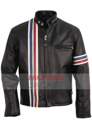Captain America Peter Fonda Easy Rider Leather Jacket