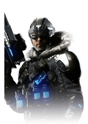Captain Cold Injustice 2 Parka Jacket
