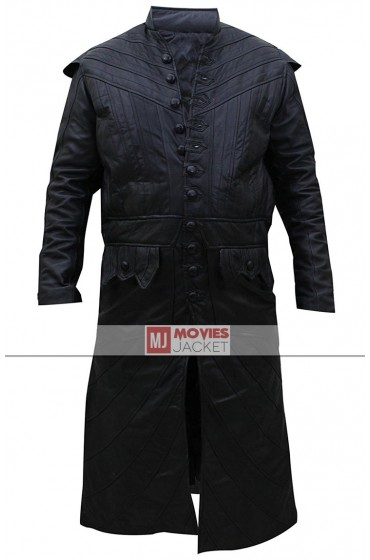 Captain Flint Black Sails Toby Stephens Leather Coat