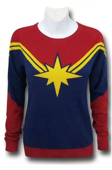 Captain Marvel Cotton Sweater