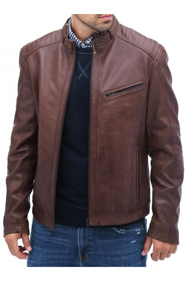 Carter Hall The Flash Falk Hentschel Leather Jacket