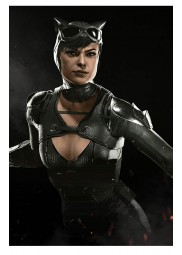 Injustice 2 Catwoman Leather Jacket