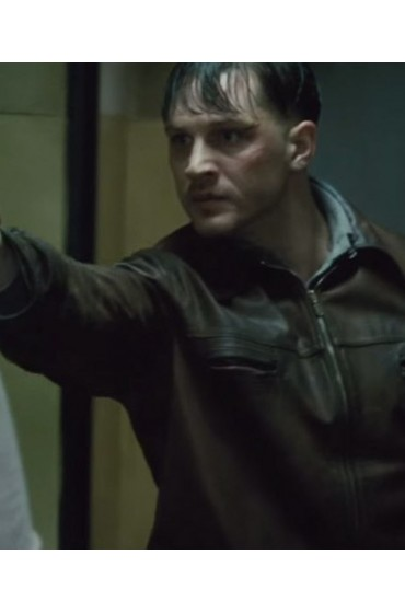 Child 44 Tom Hardy Leather Jacket