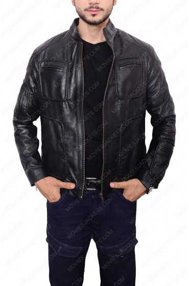 Chris Pine Star Trek Leather Jacket