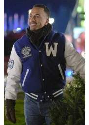 Christmas Comes Twice Michael Xavier Varsity Jacket