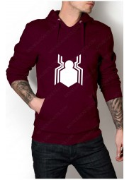 "Civil War Spiderman Logo Hoodie ""Free T-Shirt"""