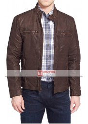 Civil War Steve Rogers Leather Jacket