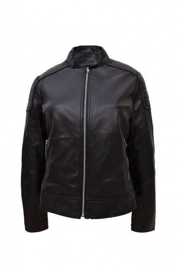 Clara Oswald Doctor Who Jenna Coleman Leather Jacket