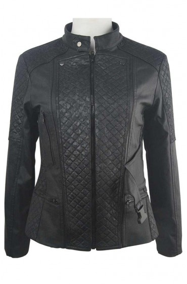 Clarke Griffin The 100 Eliza Taylor Leather Jacket