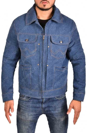 Cliff Booth Once Upon a Time in Hollywood Denim Jacket