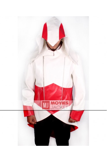 Connor Kenway White Assassins Creed Hoodie Coat
