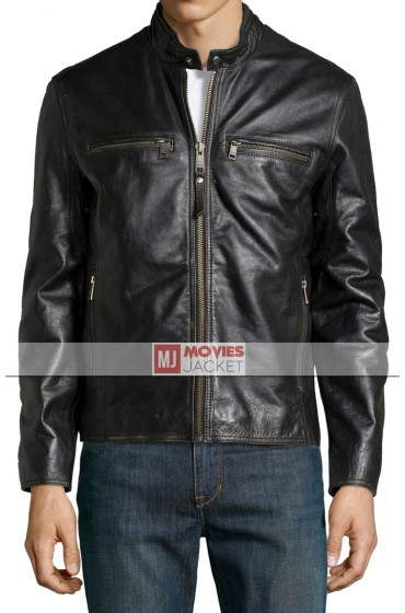 Mark Wahlberg Daddy's Home Leather Jacket