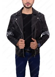 Daft Punk Instant Crush Shark Leather Jacket