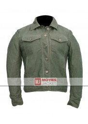 Fifty Shades of Grey Movie Dakota Johnson Green Jacket