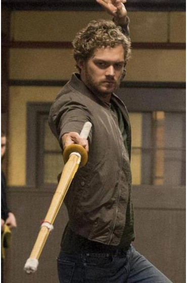 Iron Fist Finn Jones Bomber Jacket
