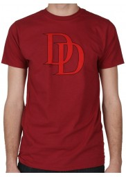 Daredevil Red Logo Maroon T-Shirt