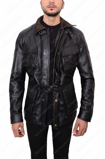 Dark Knight Rises Bane Leather Jacket
