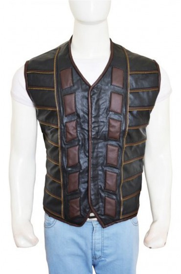 Dark Matter Anthony Lemke Leather Vest