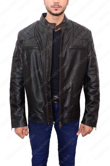 David Beckham Motorcycle Jacket