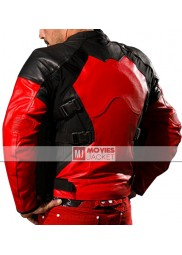 Deadpool Motorcycle Leather Jacket