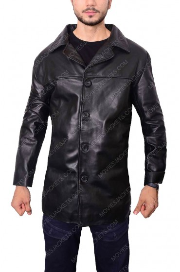 Insomnia Detective Will Dormer Leather Jacket