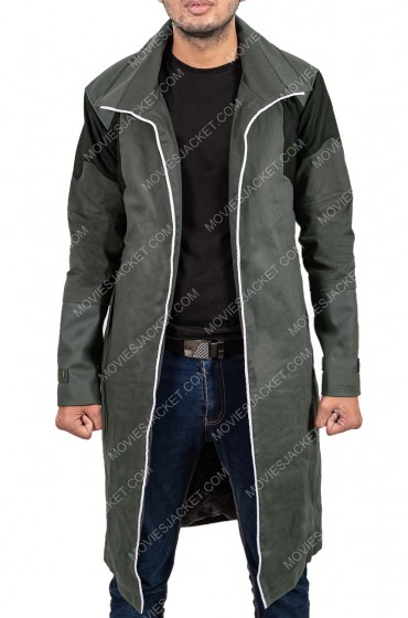 Detroit Become Human Markus Mid Length Coat