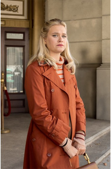 Dirty John Julia Garner Coat