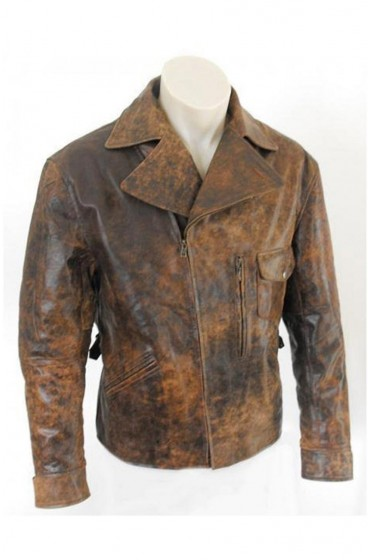 Distressed Escape From LA Snake Plissken Jacket
