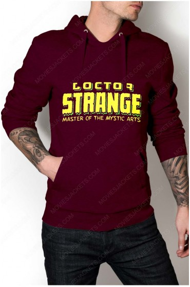 "Doctor Strange Classic Title Hoodie ""Free T-Shirt"""