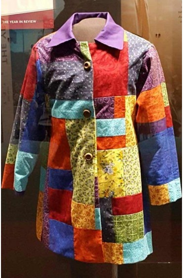 Dolly Parton's Christmas of Many Colors Circle of Love Coat