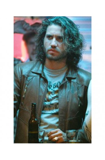 Edgar Ramirez Domino Movie Choco Leather Jacket