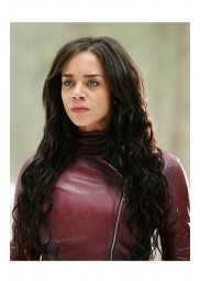 Hannah John Kamen Killjoys Dutch Red Leather Jacket