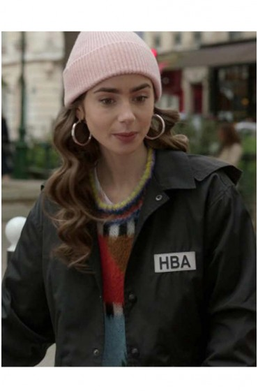 Emily In Paris HBA Cropped Jacket