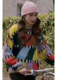 Lily Collins Emily In Paris Sweater