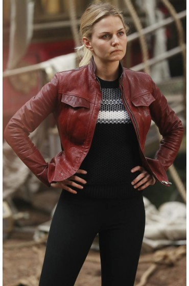 Emma Swan Once Upon a Time Season 6 Leather Jacket