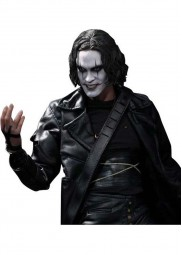 Eric Draven Black Long Leather The Crow Jacket