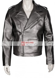 Evan Peters X-Men Quicksilver Leather Jacket