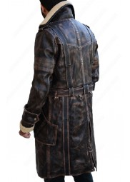 Elder Maxson Battle Fallout 4 Long Leather Jacket