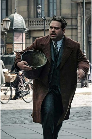 Fantastic Beasts 2 Jacob Kowalski Brown Coat