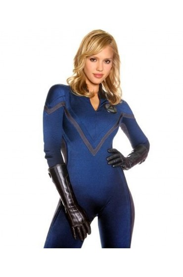Fantastic Four Invisible Woman Leather Jacket