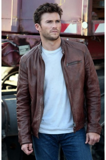 Fast 8 Scott Eastwood Leather Jacket