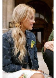 Find Me In Paris Jessica Lord Denim Jacket