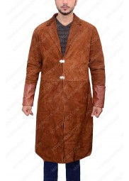 Nathan Fillion Firefly Captain Malcolm Reynolds Brown Jacket